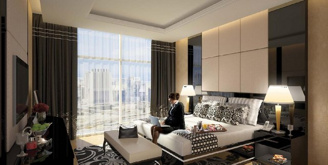 Фешенебельные гостиничные апартаменты