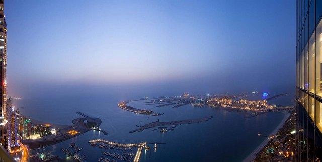 The Palm Jumeirah – крупнейший в мире рукотворный остров