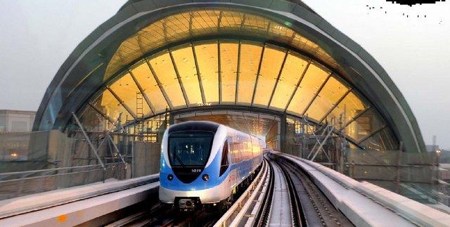 Дубайское метро – самая длинная автоматическая ветка в мире