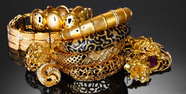 Золотой рынок в Дейре – крупнейший рынок золота в мире